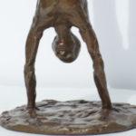 Bronze Handstand - detail